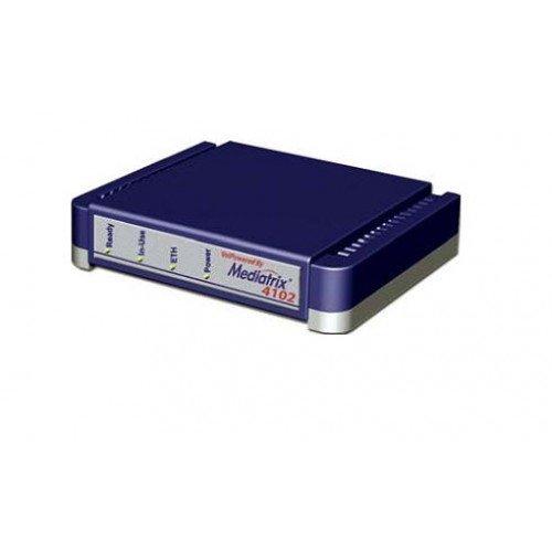 Unify Mediatrix 4102 USB Óptico 800DPI Ambidextro Negro ratón