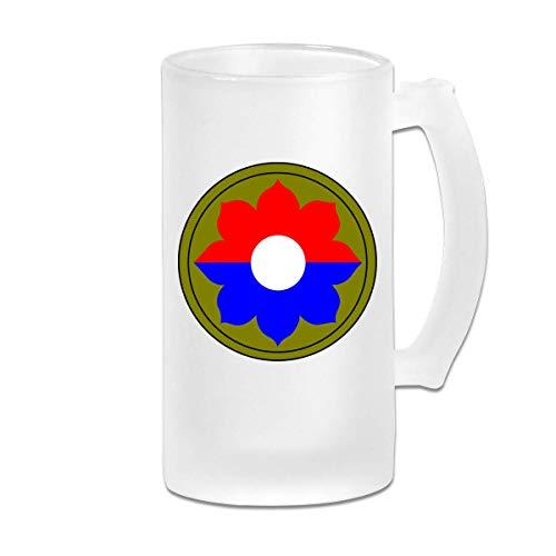 Novena infantería SSI Old Reliables Jarra de cerveza resistente al desgaste con...