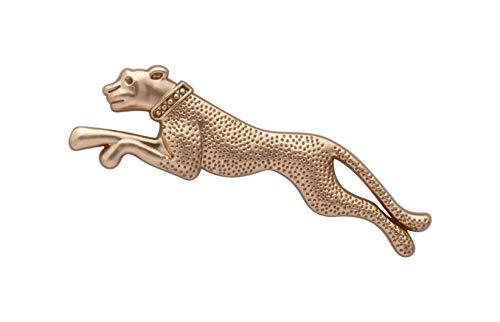 Knighthood Herren Jaguar Revers Pin Brosche Goldene Brosche Brosche/Reversnadel/Lapel Pin/Anzug/Sakko