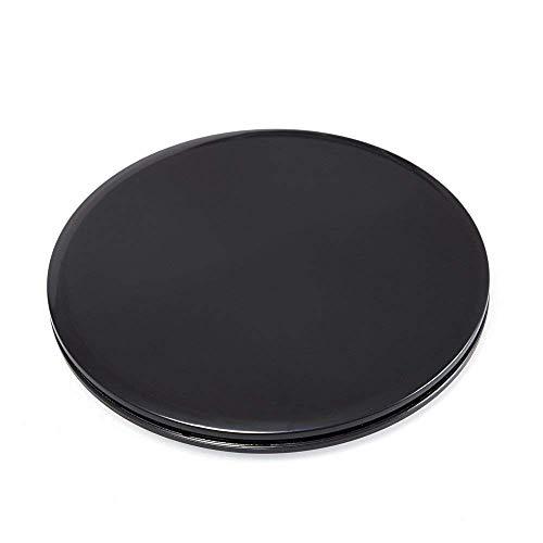 KingBra Core Sliders Ejercicio de doble cara uso en alfombras o suelos de madera dura, ideal para crossfit, entrenamiento abdominal, rutinas de entrenamiento (1 juego, negro)