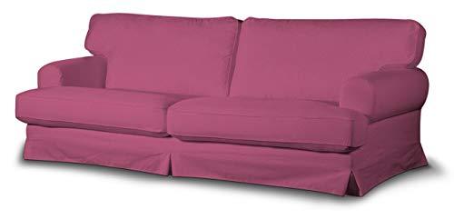 Dekoria Ekeskog Schlafsofabezug Husse passend für IKEA Modell Ekesgog rosa