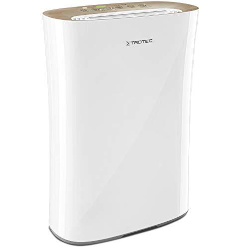 TROTEC Luftreiniger AirgoClean 110 E HEPA-Luftreinigung Ionisator für saubere Raumluft bis 25 m²/63 m³, entfernt 99,97% aller in der Raumluft befindlichen Schadstoffe, Reinigungsvolumen max. 205 m³/h