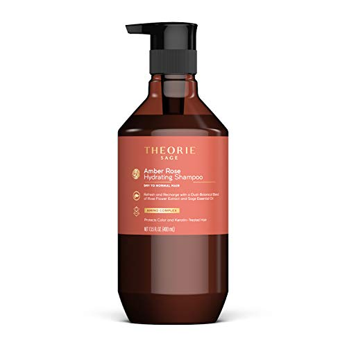 powerful Theory: Sage-Amber Rose Moisturizing Shampoo for Normal Hair from Dry Hair-Protects Color and Keratin …