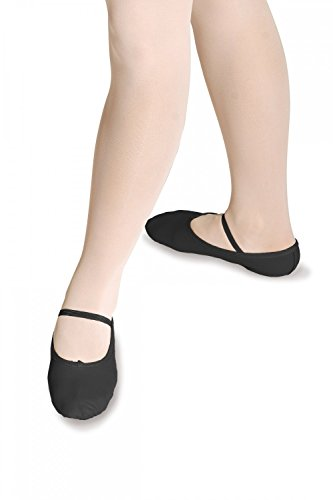 Roch Valley szerokie dopasowanie pełna podeszwa skórzane buty baletowe, damskie szerokie dopasowanie pełna podeszwa skórzane buty baletowe Czarny 3.5 UK
