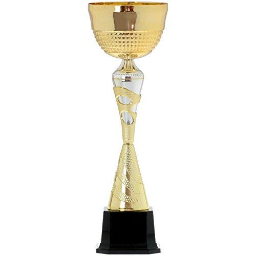 pokalspezialist Wanderpokal Brest Pokal Trophäe 46 cm mit Gravur