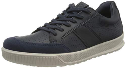 Ecco Herren BYWAY Sneaker, Blau (Marine/Marine 50642), 44 EU