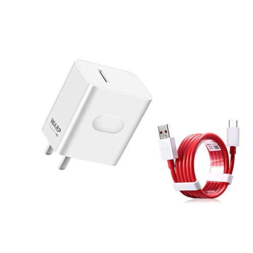 Warp Charger 30W Power Adapter [5V 6A] USB-C Fast Charging Cable 1M / 3.3FT Data Cable for OnePlus7pro 8 8pro (Warp Charger)