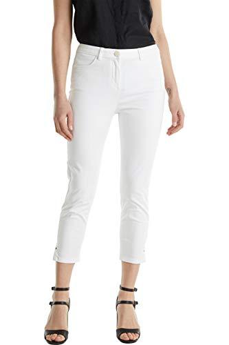 ESPRIT Collection Damen 040EO1B320 Hose, 100/WHITE, 34