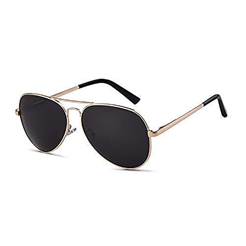 GIFIORE Herren Polarisiert Sonnenbrille 62mm Double Bridge Pilotenbrille 100% UV400 Schutz Fliegerbrille 2020 Trend
