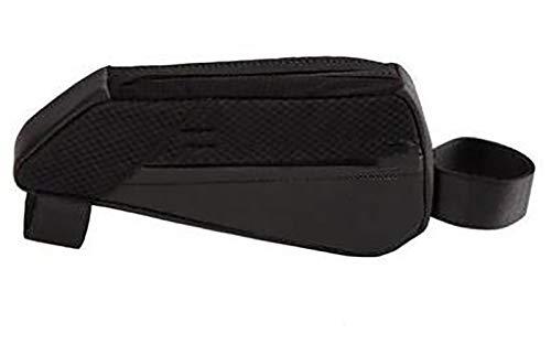 Bolsas de Bicicleta,Bolsa Táctil de Tubo Superior Delantero con Orificio para Auriculares para Teléfono Inteligente por Debajo de 6,Bolsa Impermeable para Bicicleta-Paquete de suministro 15x6x10cm