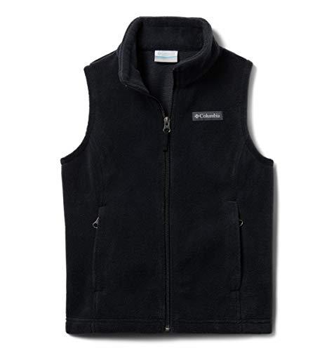 Columbia Girls' Little Benton Springs Fleece Vest, Black, X-Small