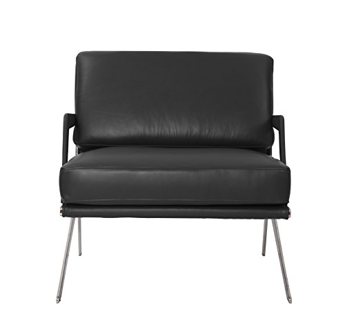 MLF Black Italian Leather, Comfortable, Solid, Durable, Artistic, Easy Cleaning & Interchanged DS-60 Chair (Multi Colors&Size Available)