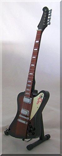 JOHNNY WINTER Miniatura Guitarra FIREBIRD BLUES