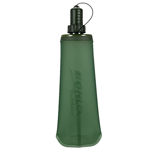 Lixada Plegable Botella de Agua Suave Corriendo Camping Senderismo Bolsa de Agua...