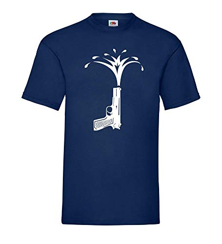 Waterpistool mannen T-shirt - shirt84.de