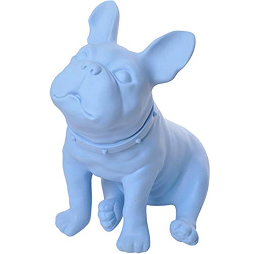 YHSTG Collectible Figurine Craft Sculpture Statue French Bulldog Home Decoration Simulation Dog Model Sculpture Creative Living Room Art & Crafts Decor Gift X5881-J