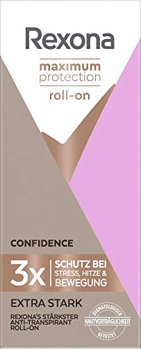 Rexona Women Roll-On Maximum Protection Confidence Anti Transpirant, 50 ml