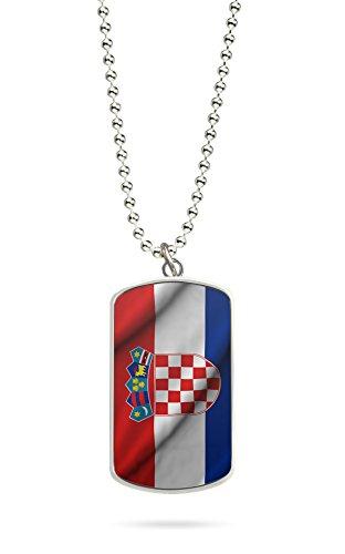 Kette Dog Tag Anhänger Kroatien Hrvatska 2