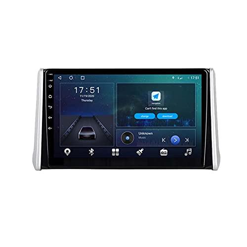 GOHHK Android 10.0 GPS Radio De Automóvil para Toyota RAV4 RAV 4 2018 2018 2018 Player De Video Multimedia DSP Carplay 4G + 64G IPS Stereo 2 DIN DVD(Size:Cuatro nucleos,Color:WiFi:4GB+64GB)