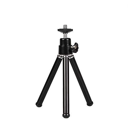 Pasavant Lightweight Webcam Tripod, Mini Tripod for Webcams Camera Desktop Tabletop Tripod Smartphone Stand
