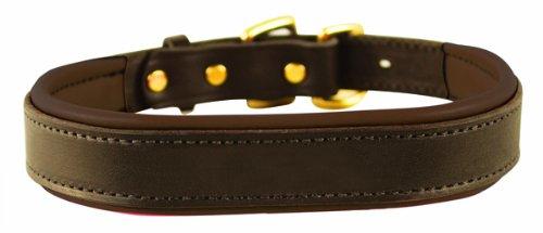 3. Perri's Padded Leather Collar