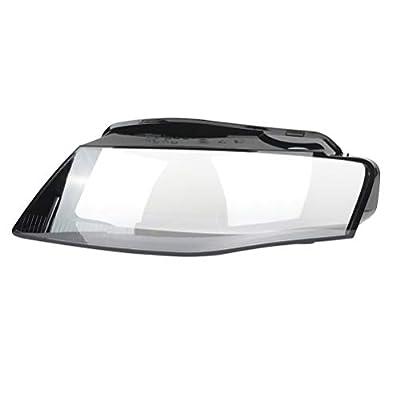 Liftstrut 2pc Driver & Passenger Side Car Headlight Headlamp Lense Clear Lens Cover for Audi for A4 2009-2012 for Trendy Plus Sedan 4-Door;for Audi for A4 2009-2012 Trendy Sedan 4-Door.