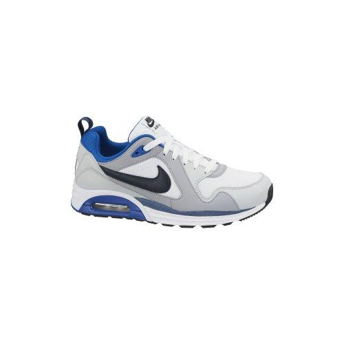 Nike Air Max Trax - Zapatillas de running para hombre, color blanco / gris / negro, Blanco / Gris / Negro, 42