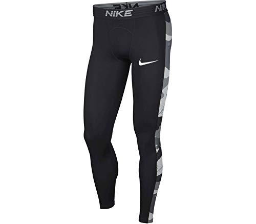 Nike Herren M NK TGHT CAMO BSLYR Netze, Schwarz/Weiß, 2XL