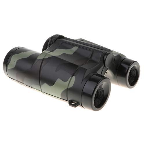 4X35mmTelescopio Binocular Camuflaje Plástico Ampliación 4X Juguete de Diversión para Niños