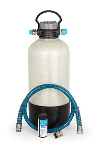 Camco TastePURE Portable Water Softener | Helps Reduce The Hardness of Your RV or Boat's Water | Features a Compact Design (40655)