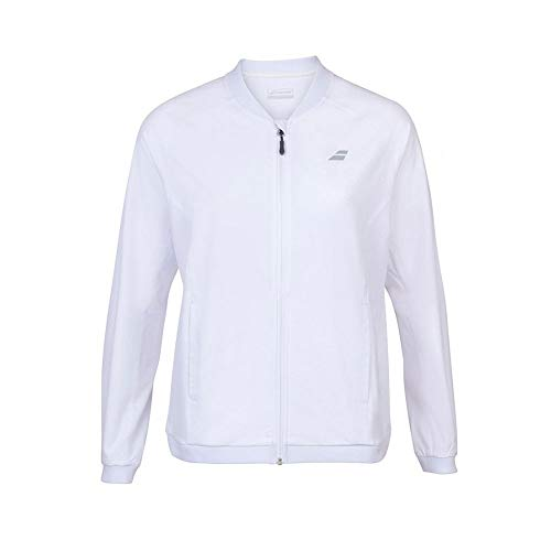 Babolat Veste zippée Femme Play Jacket Blanc PE 2020