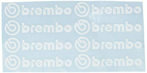 Ecoshirt HX-671Z-N9Z5 Pegatinas Brembo Am5 Stickers Aufkleber Decals Autocollants Adesivi, Blanco
