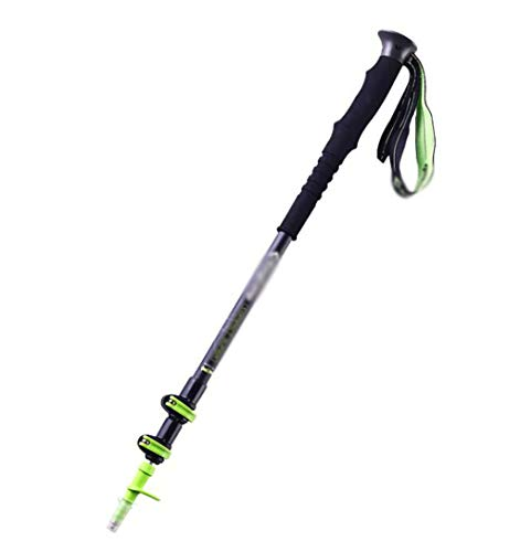 NLDSZ-Y Le bâton de Marche Trekking Pole et Le système de Verrouillage Rapide Peuvent être ajustés de 65-135cm