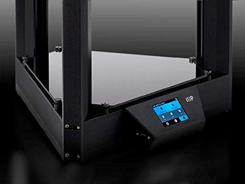 Triple Fan Heated Glass Build Plate 130993 Auto Leveling 270 x 300 mm Monoprice Delta PRO 3D Printer with Fully Assembled Monoprice PID Tuning 3D Printing