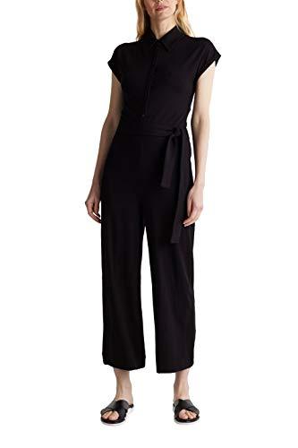 ESPRIT Collection Damen 040EO1L301 Overall, 001/BLACK, L
