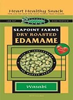Seapoint Farms Dry Roasted Edamame, Lightly Salted, 4-Ounce Pouches (Pack of 12) ( Value Bulk Multi-pack)