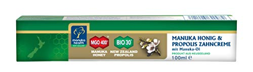 Manuka Health Zahncreme mit MGO 400+ Honig und Manuka Öl, 1er Pack (1 x 100 ml)