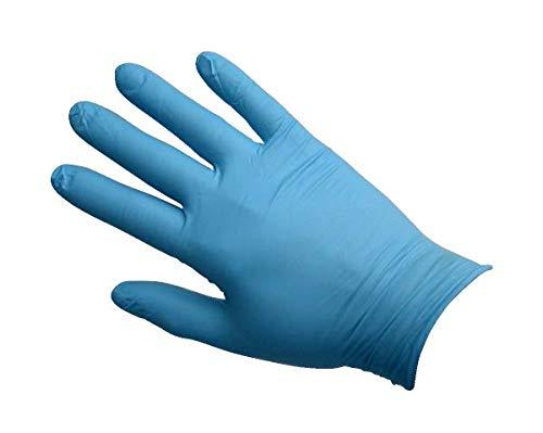 Maimed Nitrilhandschuhe, Blau, Gr. L, 100 Stück Nitril Handschuhe