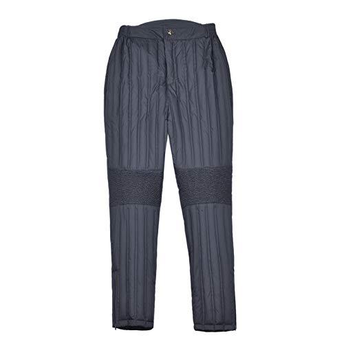 Invierno abajo pantalones hombre desgaste exterior alto cintura gruesa desgaste interior de algodón Pantalones de algodón calor térmico al aire libre al aire libre a prueba de viento a prueba de vient