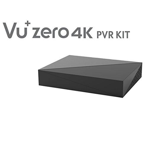VU + 620460Zero 4K PVR Kit per dischi rigidi, 6,35cm (2,5pollici), Nero