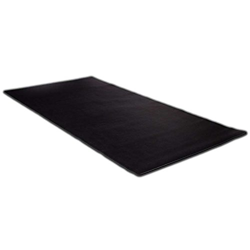 "KAZAIRA Extended Gaming Mouse Pad (3XL) with Anti-Fray Stitched Edges - 48"" x 24"" - Black"
