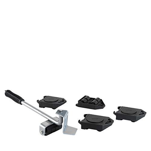 WAGNER Transporthilfen Set MM 3113 | Möbelheber I Lifter + 4 Roller I ideal zum Anheben und Verschieben von Möbel bei Transport & Umzug | 800 kg Tragkraft | kippsicher I extrem belastbar – 20311305