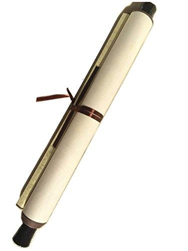 Pergamino de papel de arroz chino Xuan para pintar o para caligrafía, de color blanco y amarillo suave