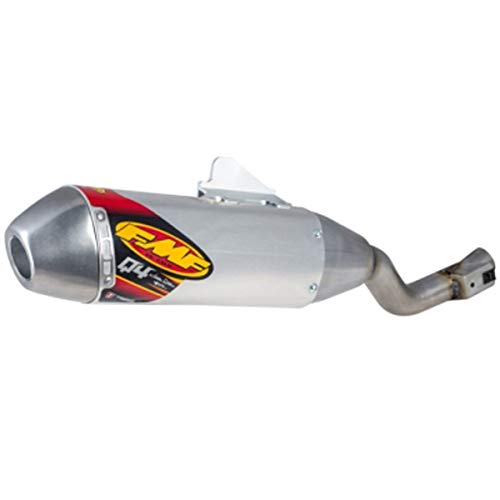 FMF Q4 Hex Spark Arrestor Slip-On Exhaust for 17-19 Honda CRF250LR