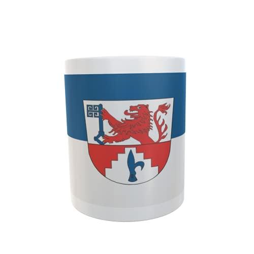 U24 Tasse Kaffeebecher Mug Cup Flagge Neuhaus (Oste)