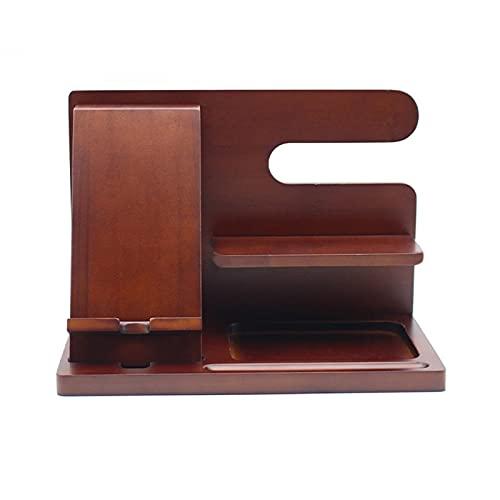 Docking station per telefono in legno di ebano