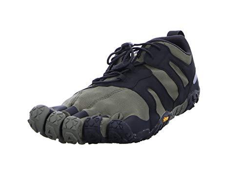 Vibram Fivefingers 19m7602 V 2.0, Zapatillas de Trail Running Hombre, Verde Ivy Black, 42 EU