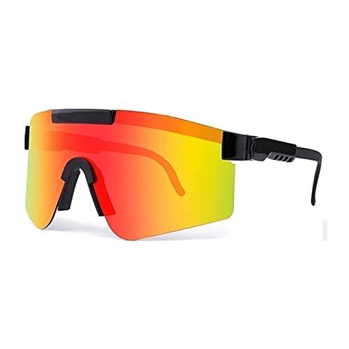 Pit- ViperS Gafas De Sol Deportivas Polarizadas, Gafas Para Hombres, Mujeres, Ciclismo, Conducción, Correr, Pesca, Senderismo, Golf, Gafas Al Aire Libre ( Color : C13 , Tamaño : 5.4in x4.4in x2.3in )