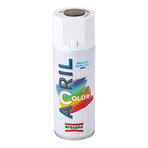 Arexons RXS110 3953 Acrilcolor RAL 8017, Marrone Scuro, 400 ml