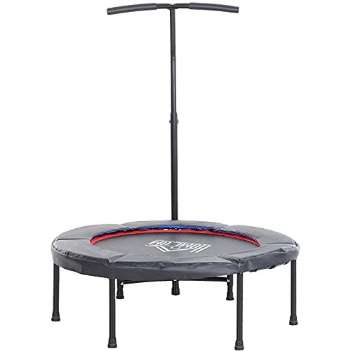 HOMCOM Trampoline de Fitness/Gymnastique Haute...